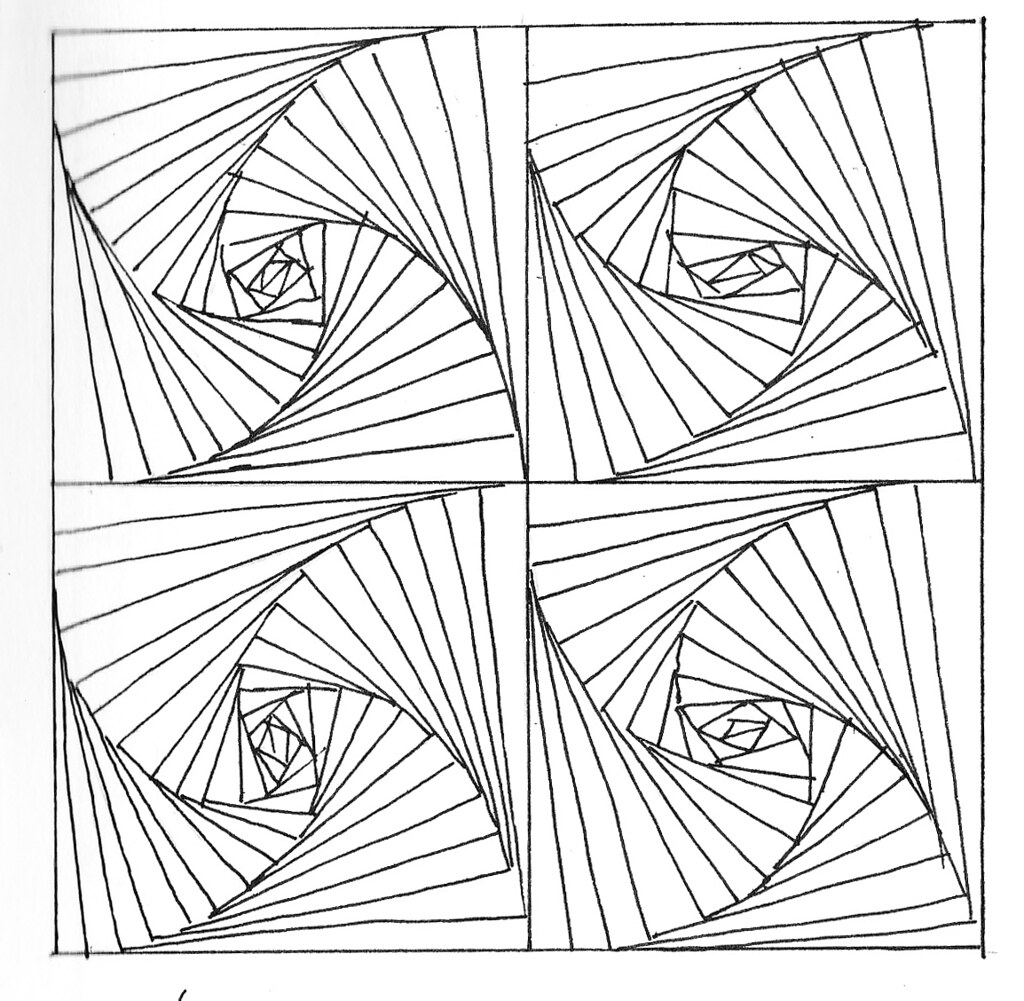 Line pattern drawing