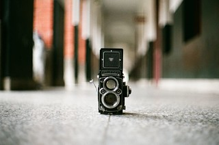 Camera Life - Rolleiflex 2.8F Xenotar [Explored] Feb 14, 2012 | by BERT DESIGN