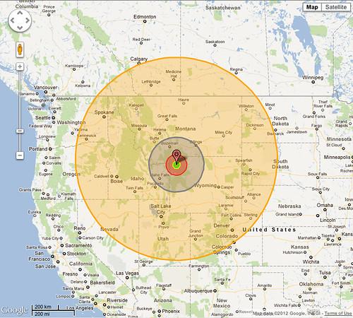 Yellowstone Supervolcano 28 Gigaton Equivalent Flickr
