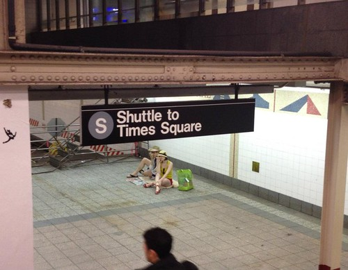 Shuttle to Times Sqaure | by RoyalCaribbeanIntl