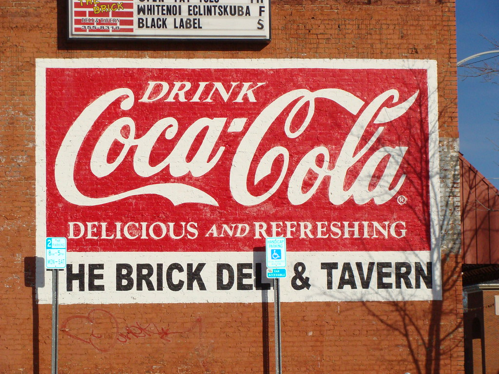 coca cola wall mural decatur al the brick deli
