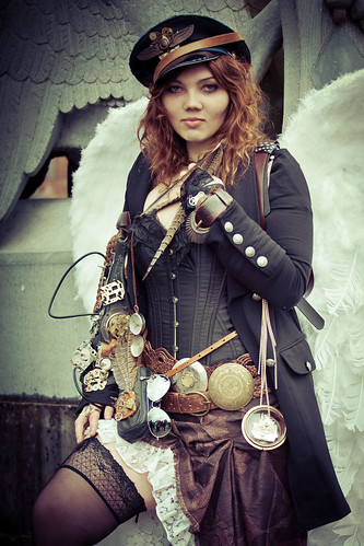 2012-04-21 Elf Fantasy Fair, edition Haarzuilens 2012, Esmée, Steampunk | by Qsimple, Memories For The Future Photography