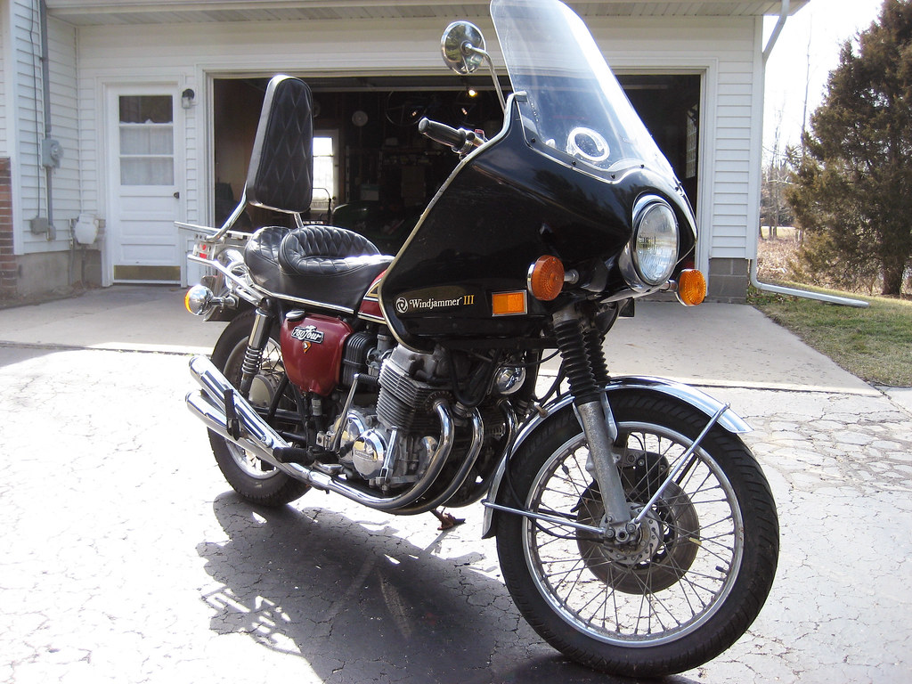 1976 Honda Cb 750 Motorcycle 026a The Fairing Does Have