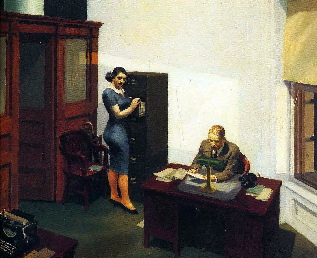 Edward Hopper - Office...