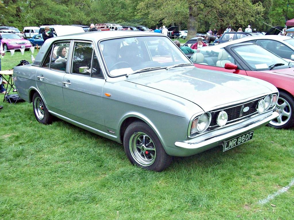 154 Ford Cortina Mk Ii V6 Savage 1968 Ford Cortina Mk