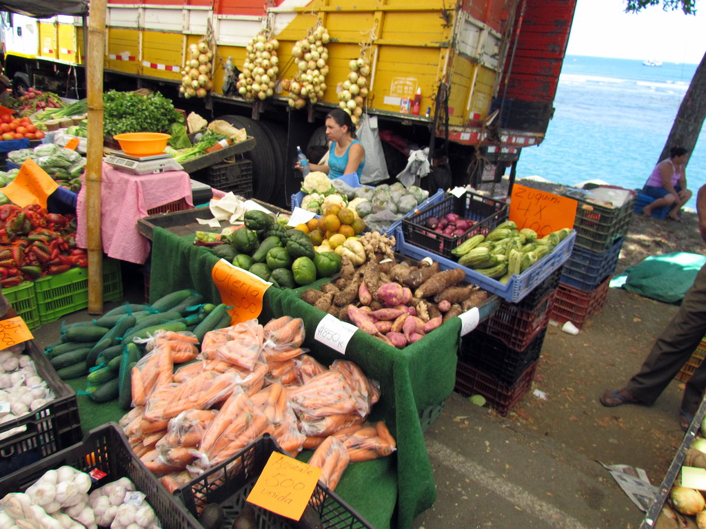 Quepos Farmers Market Costa Rica Travel Costa Rica Trave Flickr