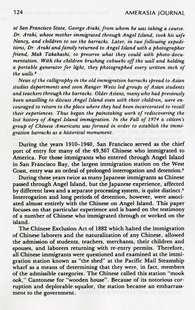 rediscovered voices chinese immigrants and angel island 1