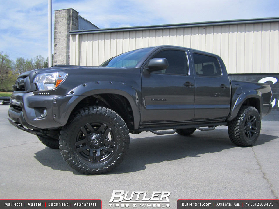 Toyota Tacoma With 18in Fuel Pump Wheels Additional