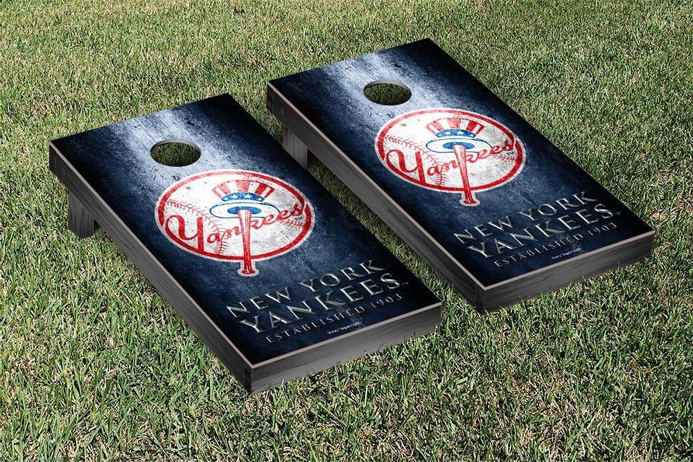 New York Yankees Metal Version Cornhole Board
