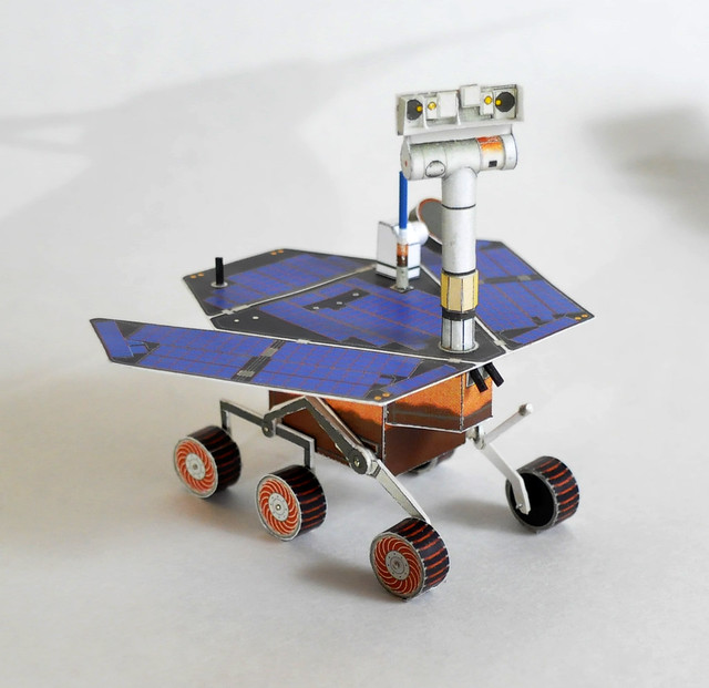 mars rover papercraft - photo #5