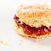 Lemon Scone with Jam