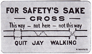 Boy Scout Cards Kiwanis Club Hartford Anti JayWalking 07.02.1921 National Safety News | by Mikael Colville-Andersen