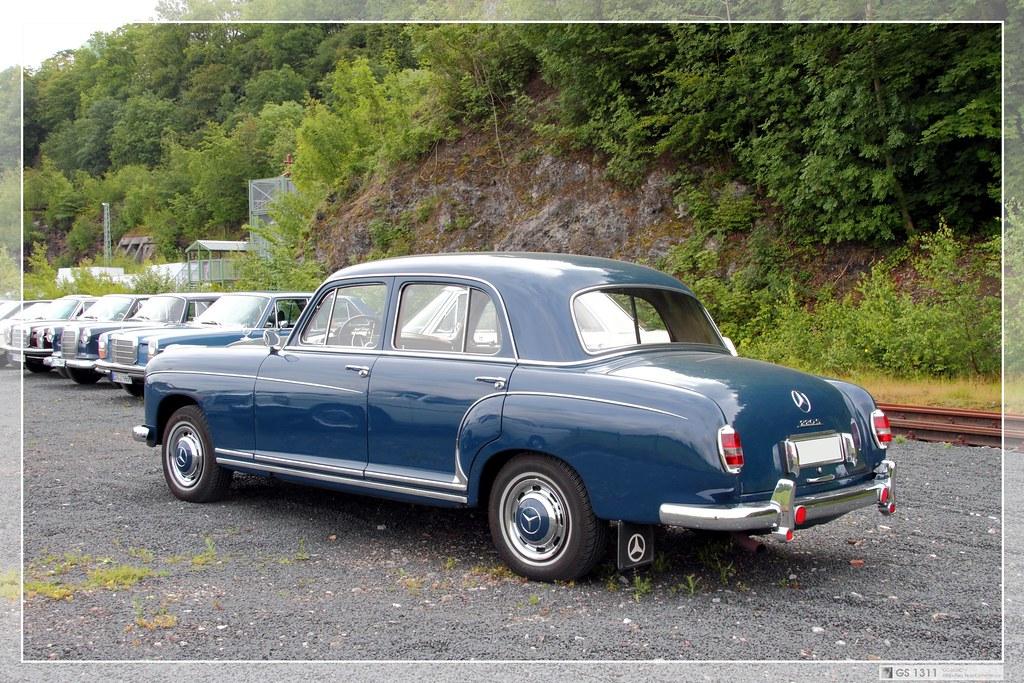 Used Mercedes Benz >> 1956 Mercedes-Benz W 180 II (220 S Limousine) (03) | Flickr
