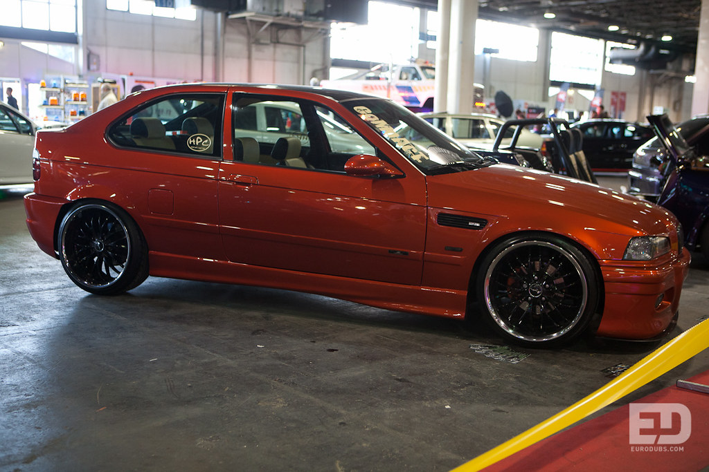 bmw e36 compact budapest tuning show 2012 eurodubs com flickr. Black Bedroom Furniture Sets. Home Design Ideas