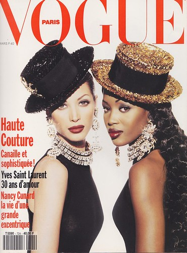 1992 - Christy Turlington and Naomi Campbell