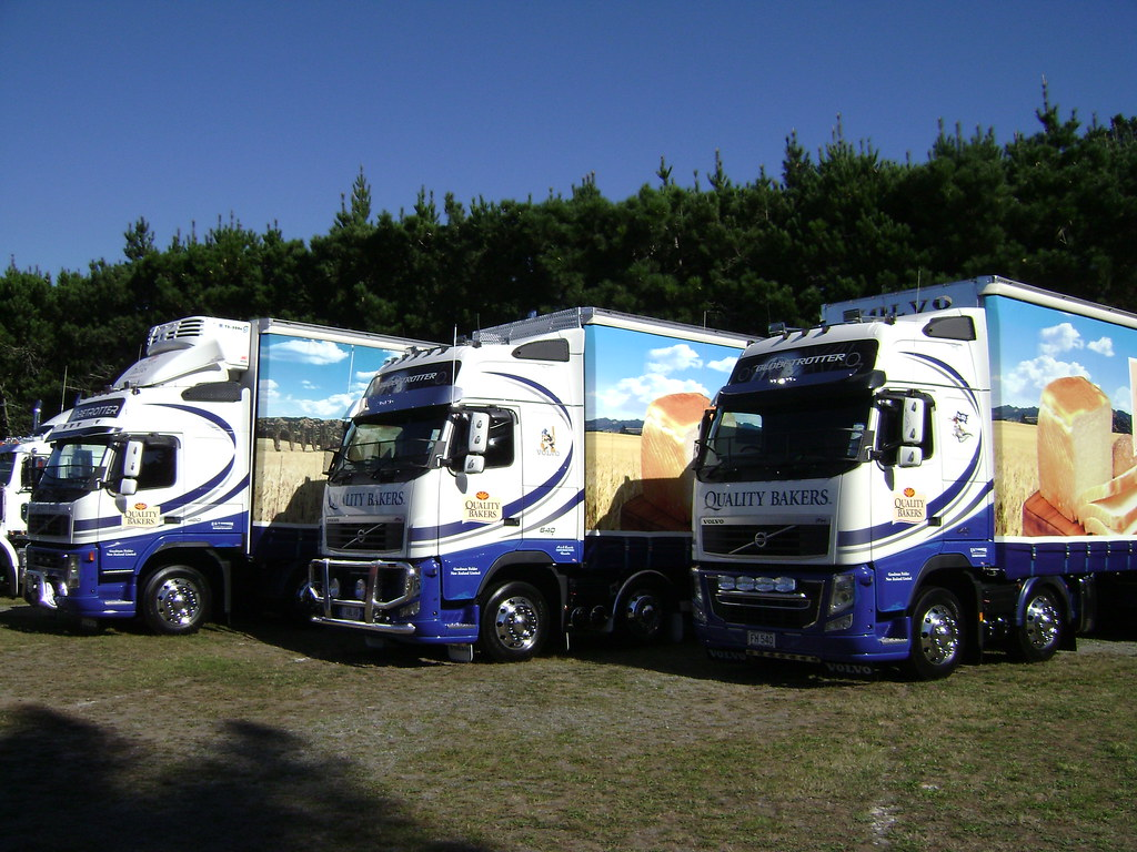 All sizes quality bakers bread truck line up flickr photo sharing