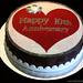 Sparkling Anniversary Cake