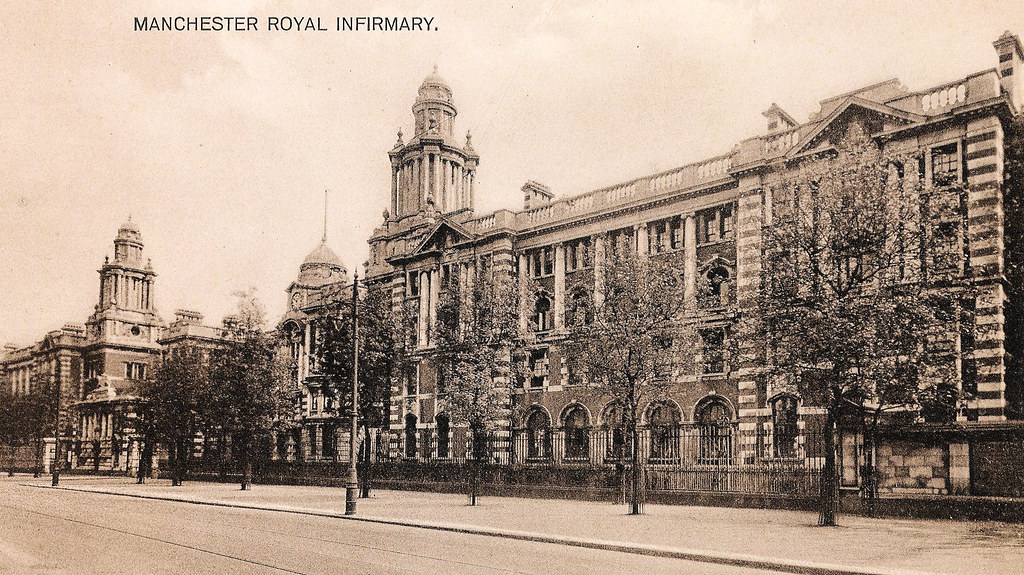 Manchester  Royal Infirmary  A Postally Unused Postcard