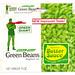 Vintage Green Giant Frozen Green Beans Box