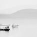 Misty Elefsina bay