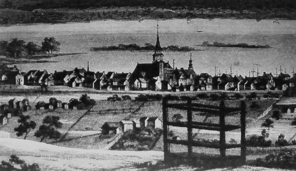 Montr al vers 1803 l 39 ancien ville fortifi e archives for Porte 60 hotel dieu sherbrooke