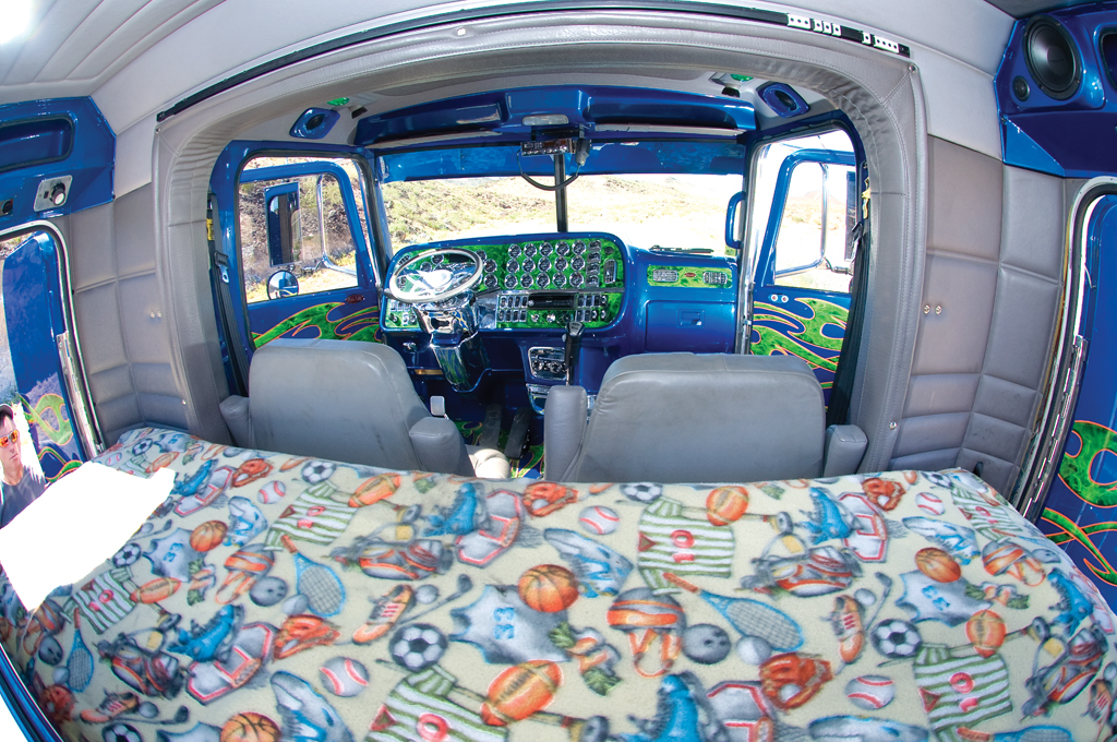 Art Therapy Interior Truck Name 5150 Owner Jeff