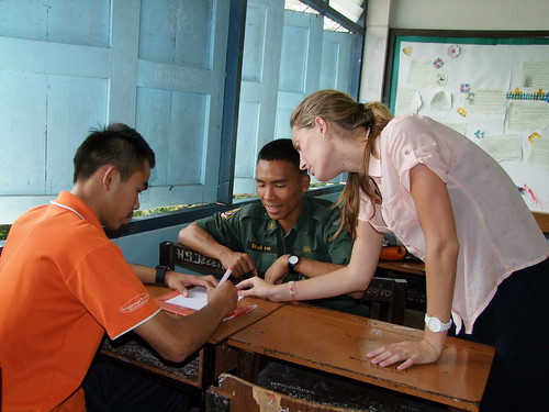 Volunteer Teaching in Febuary and March | by Children's Organization of Southeast Asia