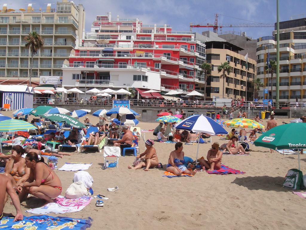 The beach las palmas spain sbmaciel flickr - Constructoras las palmas ...