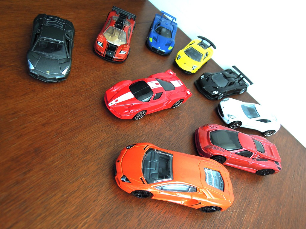 """All Car Company >> Supercar Collection 1/64 Scale 