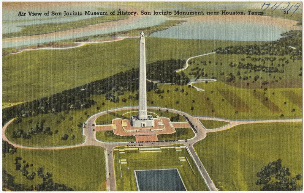 Air View Of San Jacinto Museum Of History  San Jacinto Mon