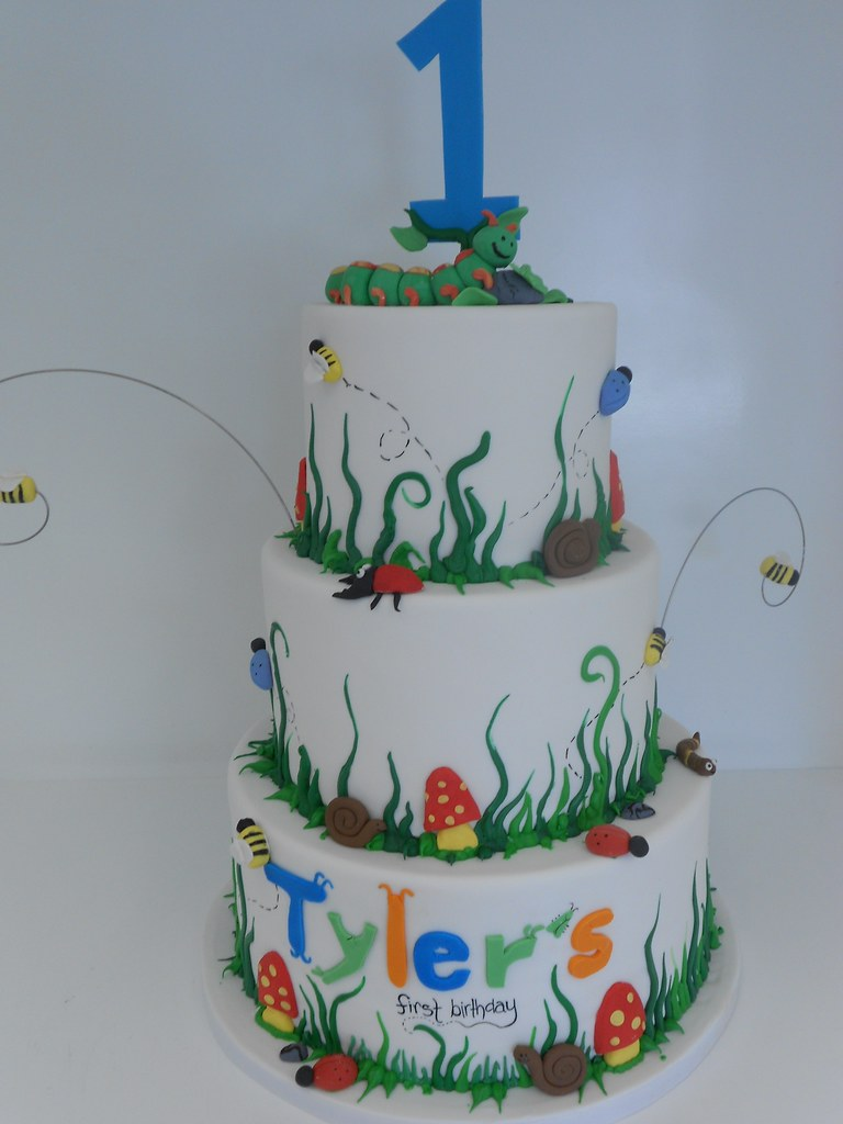 Astounding Bug Birthday Cake 995 Asweetdesign Info 818 363 9825 Flickr Funny Birthday Cards Online Overcheapnameinfo