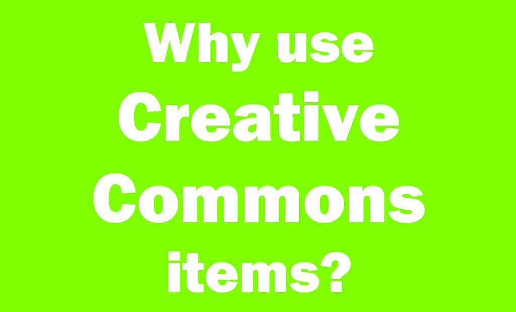 Why use creative commons items printable sign for creativ flickr - New uses common items ...