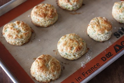 Cheese Biscuits with Scallions and Black Pepper | by Completely Delicious