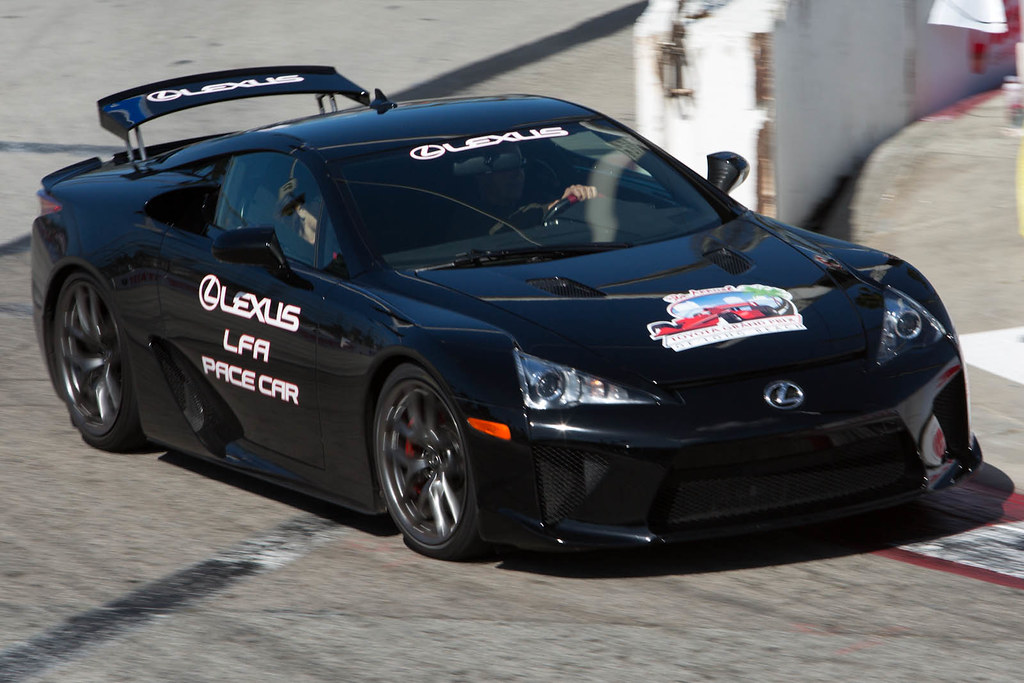 grand prix of long beach lexus lfa pace car curt smith flickr. Black Bedroom Furniture Sets. Home Design Ideas