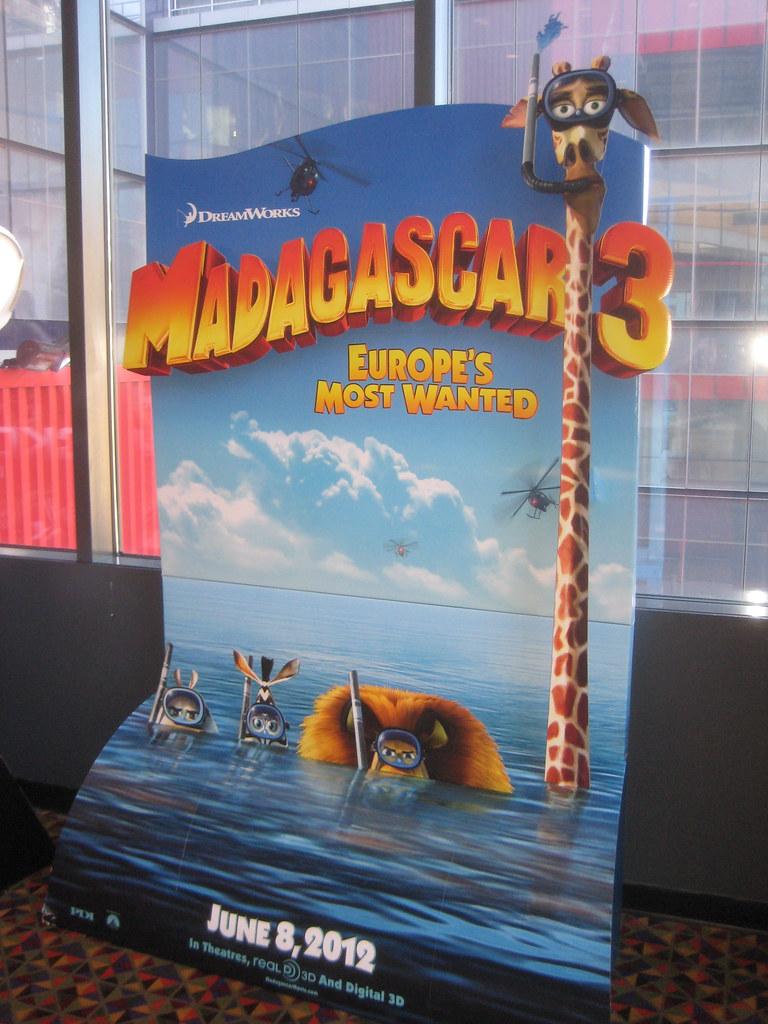 Madagascar 3 Standee Billboard 9278 | Madagascar 3 Standee