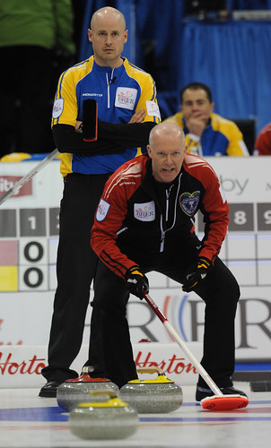 Kevin Koe and Glenn Howard | by seasonofchampions