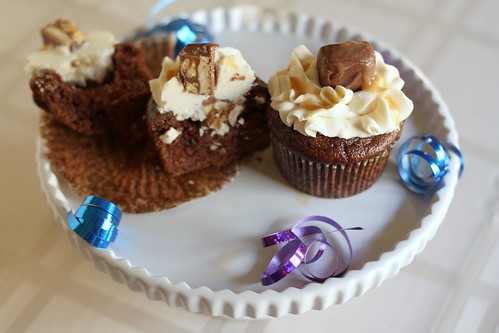 Snickers Cupcakes | by niftyfoodie