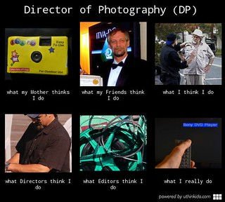 Director of Photography - What I really do. | by bruce_geisert