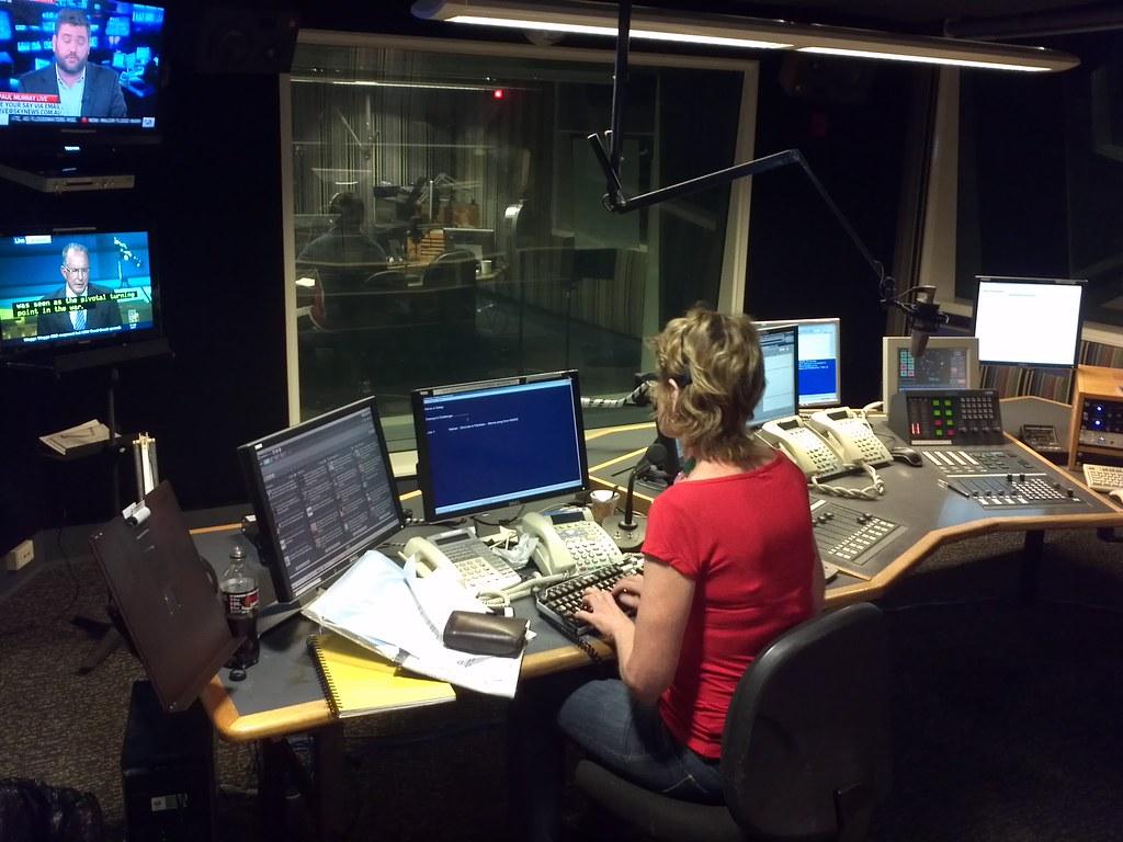ABC Radio Producer multitasking - NSW/Canberra Evenings sh… | Flickr