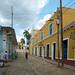 Calle Simon Bolivar toward Plaza Mayor -Trinidad