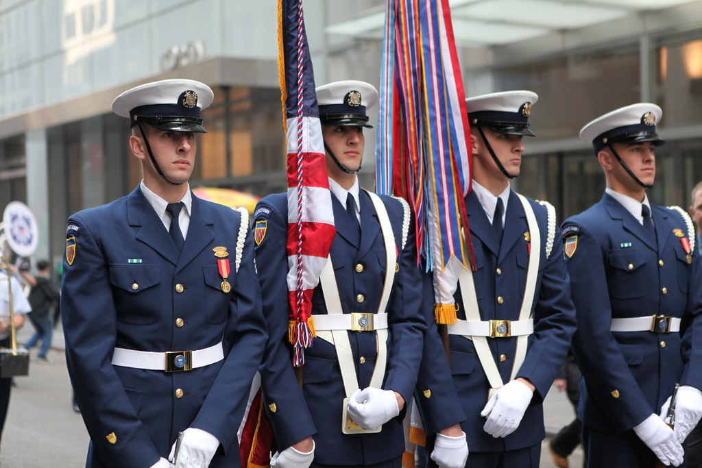 """""""United States Coast Guard Honor Guard""""- St. Patrick's Day… 