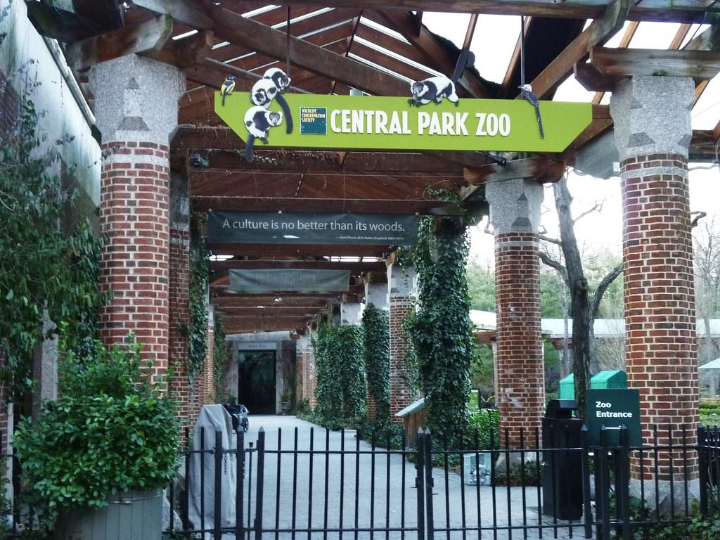 Entrance Central Park Entrance Central Park Zoo