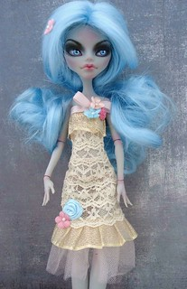Monster High Garden Party Dress | by herflyinghorses(aka Fern'sCloset)