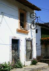 Puerto Vallarta house and the bike