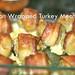 Bacon Wrapped Turkey Meatballs