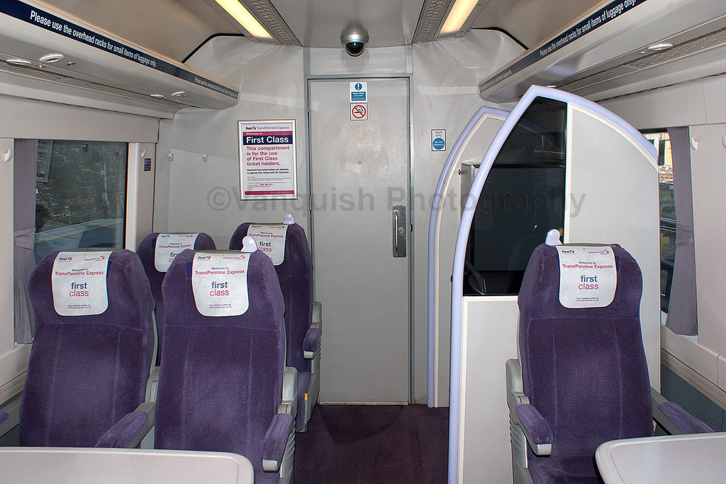 first transpennine express turbostar first class