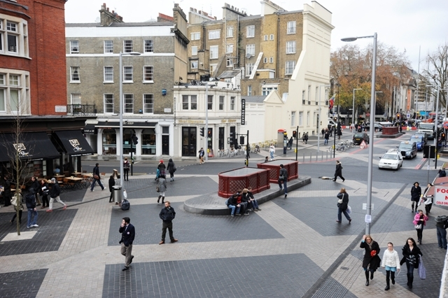 Shared Surface Along Exhibition Road Regeneration