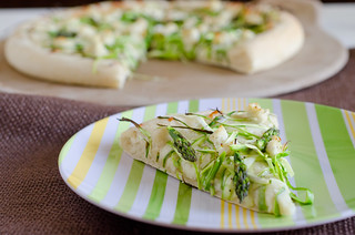 Shaved Asparagus Pizza 13 | by Seeded at the Table