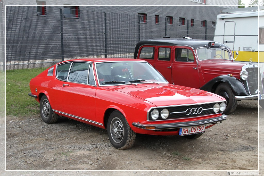 1970 Audi 100 Coupé S (01) | The Audi 100 C1 was shown to th… | Flickr