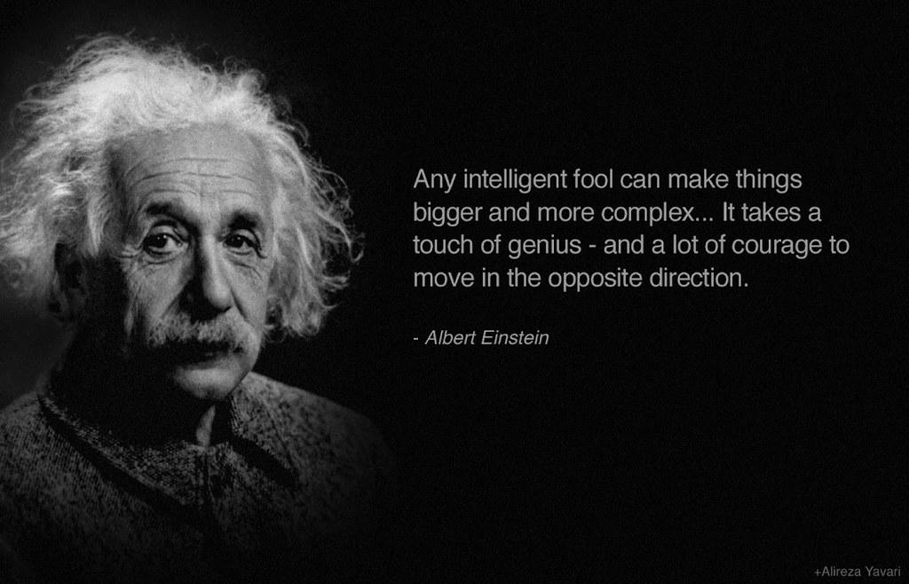 Albert Einstein Frase Haro Mx Flickr